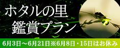 【期間限定】ホタルの里・観賞プラン