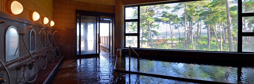 ホテルウェルネス能登路の天然温泉の写真